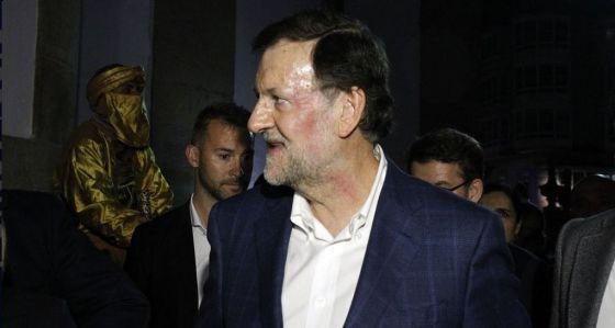 Agresión a Rajoy