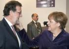 Los líderes europeos arropan a Rajoy el día después de la agresión