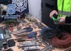 Cae una banda de robo de cobre que opera entre Madrid y Valencia