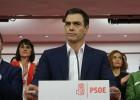 """Sánchez acepta que Rajoy """"intente"""" formar una mayoría de Gobierno"""