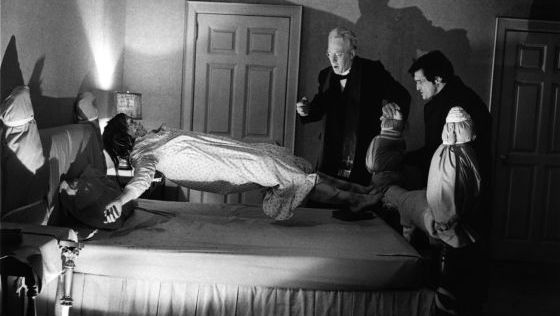 Fotograma de 'El exorcista', de William Friedkin (1973).