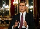 El Rey llama al diálogo sin aludir a la crisis política ni a la corrupción