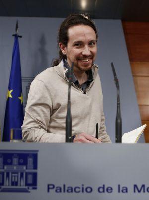 Pablo Iglesias, el pasado lunes en La Moncloa.