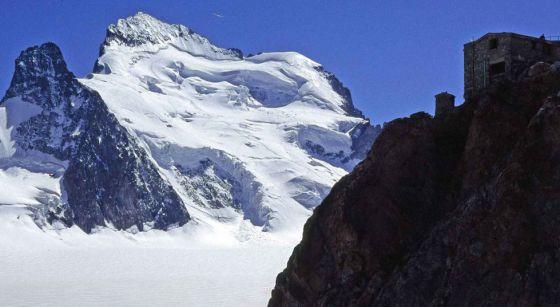 La ruta del Dome des Ecrins, en Los Alpes.