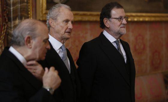 Mariano Rajoy en la celebración de la Pascua Militar.