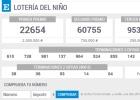 Comprueba tu décimo y consulta la información de la Lotería de El Niño