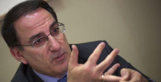 El presidente de la Confederación Andaluza de Empresarios, Javier González de Lara.