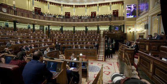 Último pleno del Congreso de los Diputados de la pasada legislatura.