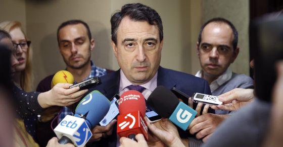 El parlamentario del Partido Nacionalista Vasco (PNV), Aitor Esteban, en una imagen de archivo.