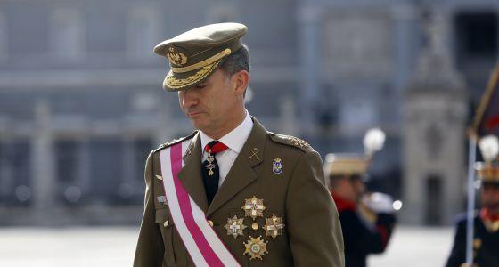 Felipe VI el pasado 3 de enero.