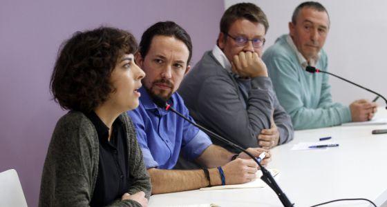 El líder de Podemos, Pablo Iglesias, este martes.