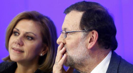 Mariano Rajoy en la Junta Direncia Nacional del PP.