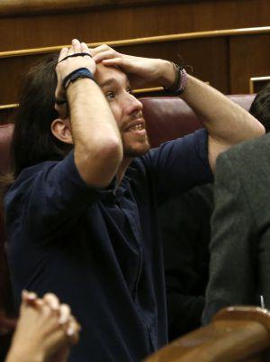 Pablo Iglesias, este miércoles.