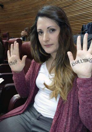 Imagen de la diputada de Compromis Marián Campello, facilitada por una compañera de partido.