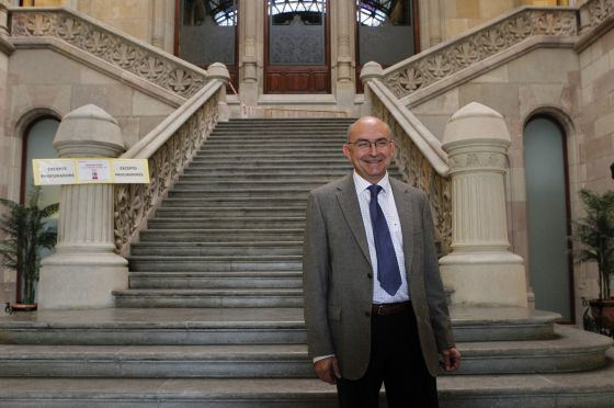 El presidente del Tribunal Superior de Justicia de Cataluña ( TSJC) , Miguel Ángel Gimeno