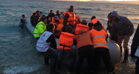 Miembros de la ONG Proem-aid durante una intervención en Grecia