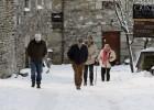 El fin de semana arranca con nieve y temperaturas gélidas