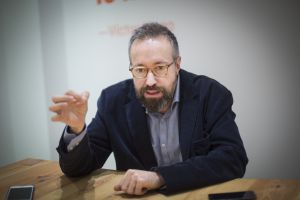 Juan Carlos Girauta (Barcelona, 1961). Abogado, periodista y exeurodiputado de Ciudadanos