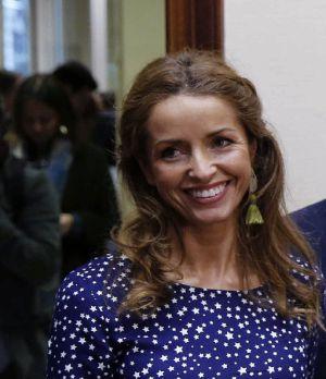 Patricia Reyes (Madrid, 1973). Abogada, entró en política como edil de Ciudadanos en Boadilla (Madrid).
