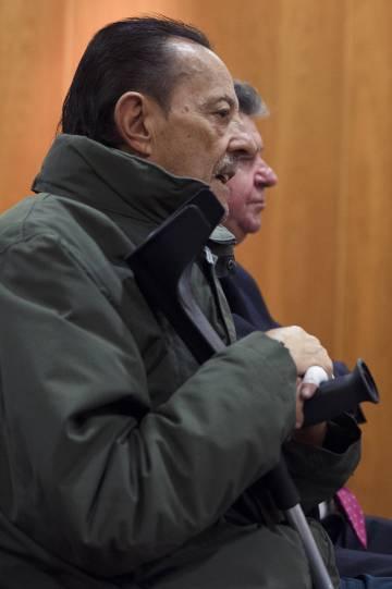 Julián Muñoz, este lunes durante el juicio.