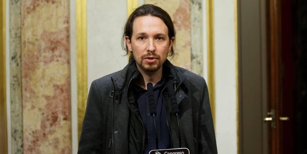 El líder de Podemos, Pablo Iglesias, el pasado 13 de enero, en Madrid.