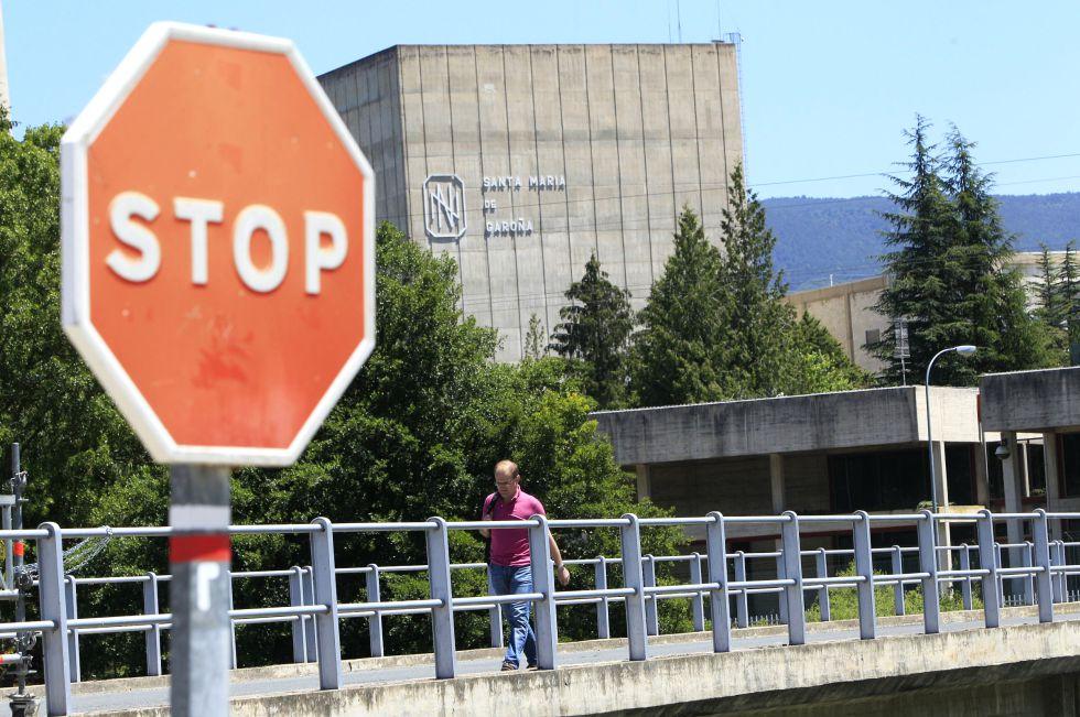 Central nuclear de Santa María de Garoña, en Burgos.