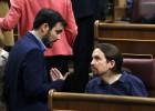 Garzón acusa a Podemos de haber vetado el grupo propio de IU