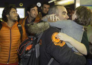 """Los bomberos detenidos en Lesbos: """"Queremos seguir trabajando"""""""