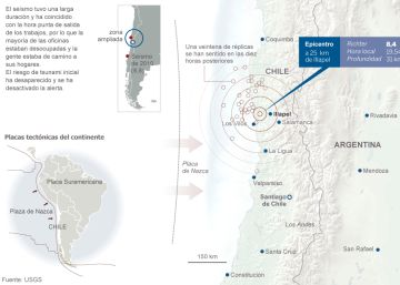 Un terremoto de magnitud 4,9 se siente en Andalucía oriental y Melilla