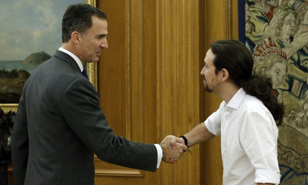 El Rey Felipe VI y Mariano Rajoy el pasado noviembre