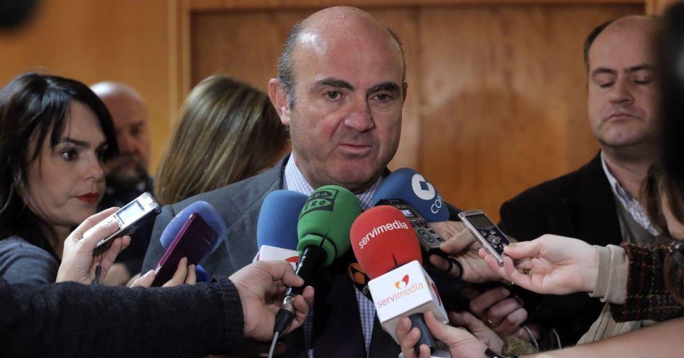 El Ministro de Economía, Luis de Guindos, en una imagen de archivo.