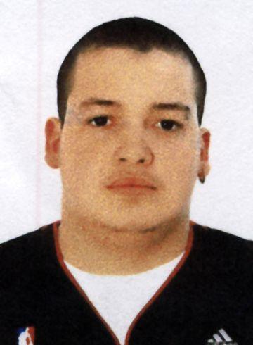 Fotografía del asesino de la calle de Santaló.