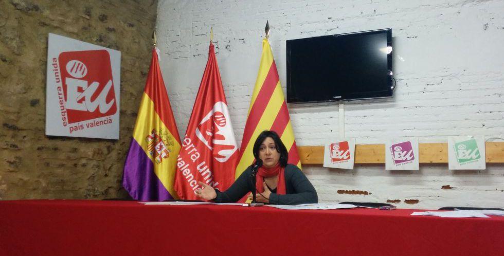 Rosa Pérez, de Esquerra Unida.
