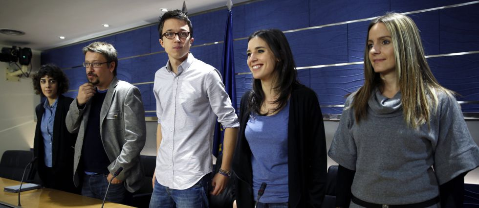 Podemos deputies had complained about their allocated seats in Congress.