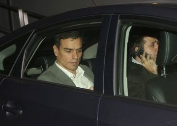 Sánchez comienza la ronda con líderes territoriales del PSOE