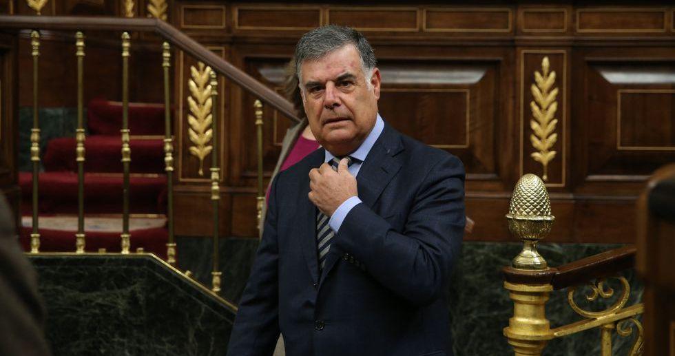 José Antonio Viera en el Congreso de los Diputados.