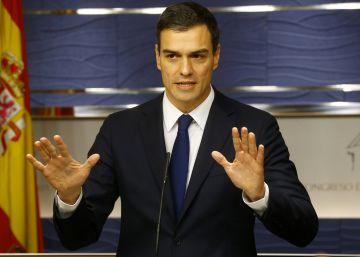 El PSOE insiste en negociar la investidura con Podemos