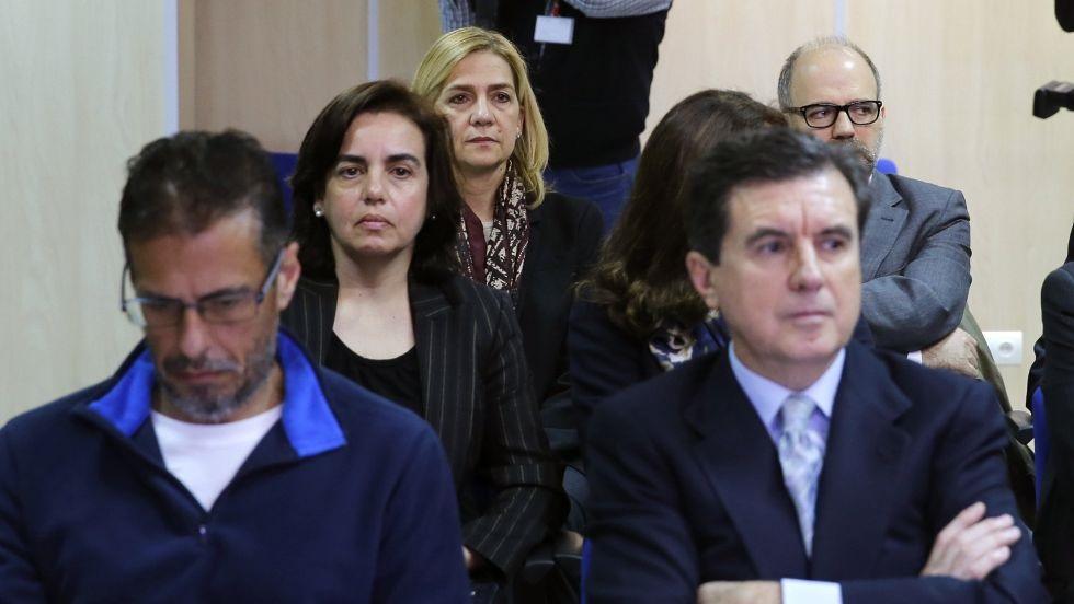 La Infanta Cristina en el banquillo