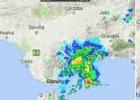 Una tormenta obliga a desviar siete vuelos del aeropuerto de Málaga