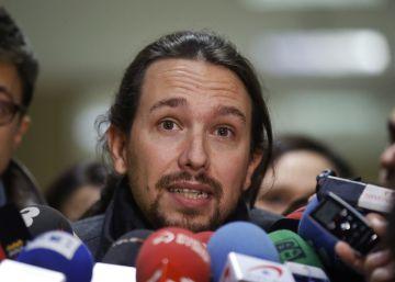 Iglesias reitera al Rey su oferta de un Gobierno del PSOE y Podemos