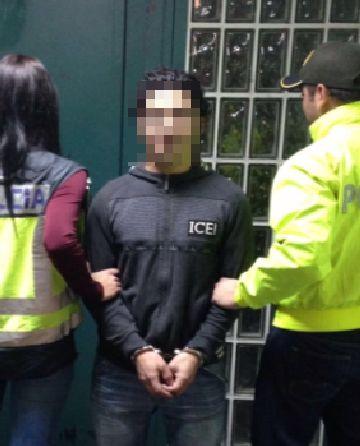 La policía detiene a uno de los líderes de la organización.