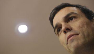 El secretario general del PSOE, Pedro Sánchez, este jueves