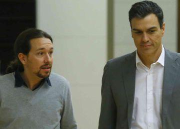 Sánchez no negociará con Iglesias mientras este vete a Ciudadanos
