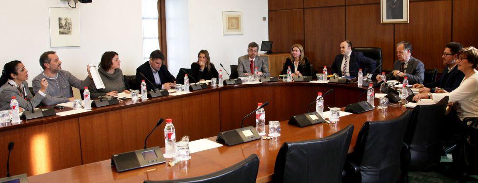 Reunión de la comisión de investigación andaluza de los cursos de formación.