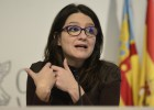 Mónica Oltra, líder de Compromis, este viernes.