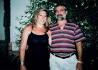 Lucía Garrido y el inductor de su asesinato, su marido Manuel Alonso.