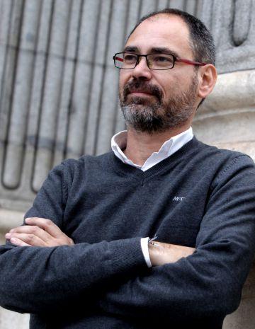 Alberto Montero, el pasado martes en el Congreso.