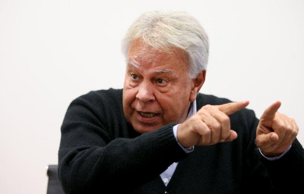 El expresidente del Gobierno Felipe González.