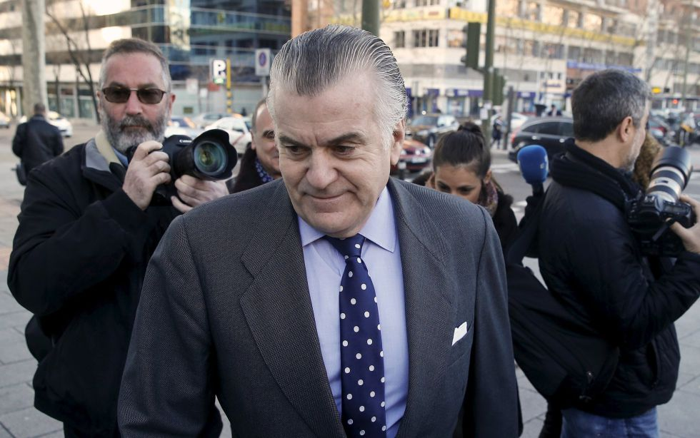 Luis Bárcenas acude a testificar sobre el caso, la pasada semana.