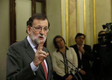 Rajoy intentará la investidura si Sánchez fracasa en sus pactos